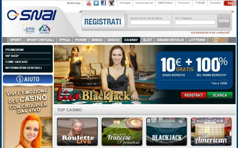 il-casino-italiano-snai-cosa-e